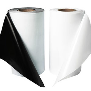 Черно-белая пленка рукав 300х220 80мкм