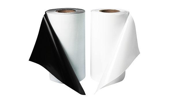 Черно-белая пленка рукав 300х220 80мкм 1
