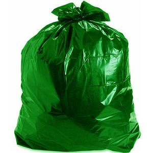 Зеленые мешки для мусора в Санкт-Петербурге